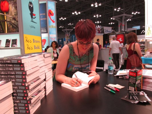 Book Expo America, 2015. Photo courtesy of Nicole Brinkley, YA Interrobang.