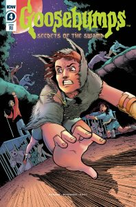 Retailer Incentive cover for Goosebumps #4