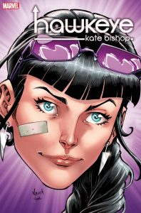 The Todd Nauck variant cover for Hawkeye #1